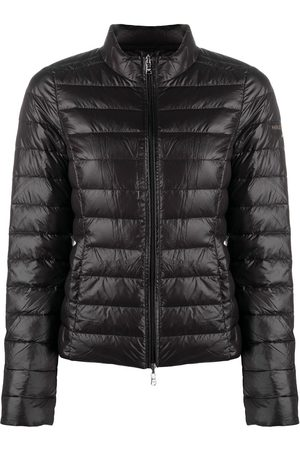 Patrizia Pepe Naiset Untuvatakit - Zip-up logo puffer jacket