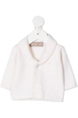 LA STUPENDERIA Rib-trimmed wool cardigan