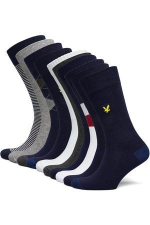 Lyle & Scott Bobby Underwear Socks Regular Socks Monivärinen/Kuvioitu