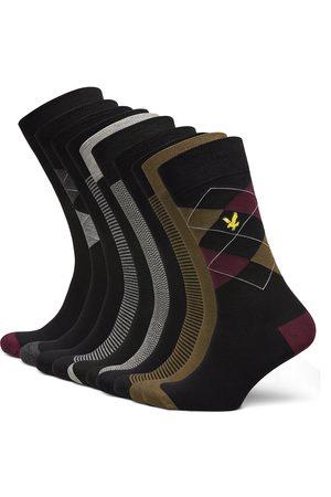 Lyle & Scott Miehet Sukat - Thomas Underwear Socks Regular Socks Monivärinen/Kuvioitu