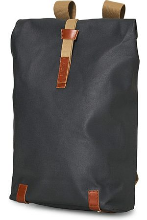 Brooks Brothers Miehet Reput - Pickwick Cotton Canvas 26L Backpack Grey Honey