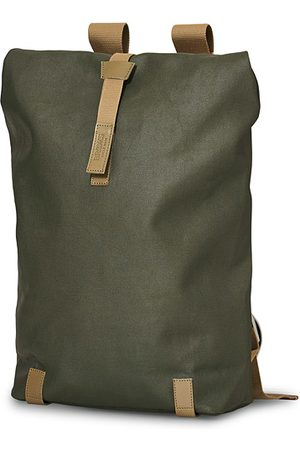 Brooks Brothers Pickwick Cotton Canvas 26L Backpack Sage Green