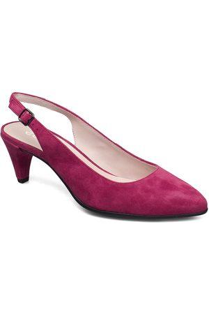 Ecco Shape 45 Pointy Sleek Shoes Heels Pumps Sling Backs