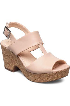 Clarks Naiset Sandaletit - Maritsa Glad Korolliset Sandaalit Vaaleanpunainen