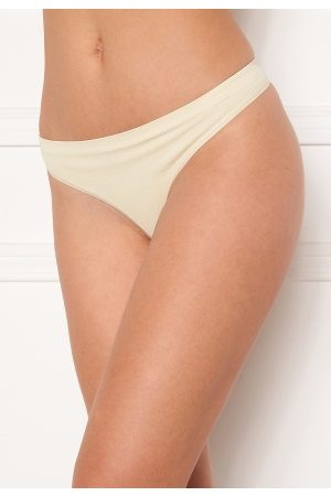Pieces Symmi 2-Pack Thong Whitecap Gray S/M