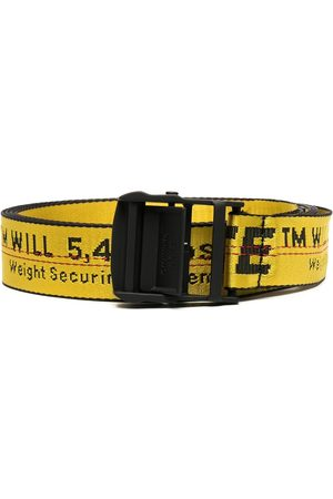OFF-WHITE Vyöt - CLASSIC INDUSTRIAL BELT BLACK