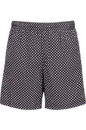 Alexander McQueen Skull Nylon Swim Shorts
