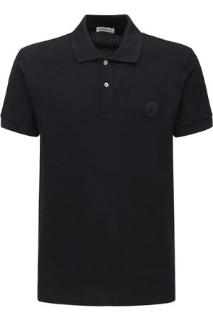 Alexander McQueen Miehet Pikee - Skull Patch Cotton Polo