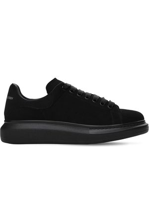 Alexander McQueen Miehet Tennarit - 45mm Platform Suede Sneakers