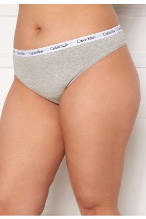 Calvin Klein Thong Plus PGK Grey Heather XXL