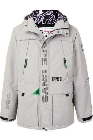AAPE BY *A BATHING APE® Miehet Parkatakit - Hooded padded parka coat