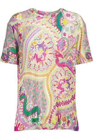 Etro Printed jersey T-shirt