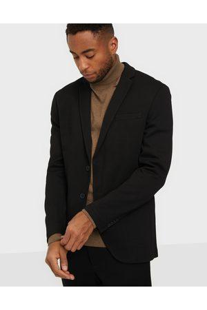 Jack & Jones Jjephil Jersey Blazer Kavajer & kostymer Black Super Slim Fit