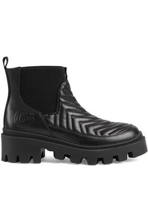 Gucci Matelassé Chelsea boots