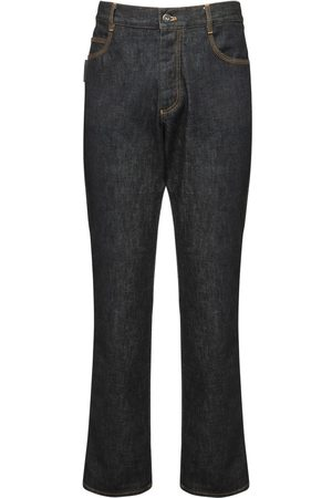 Bottega Veneta Brut Cotton Denim Jeans