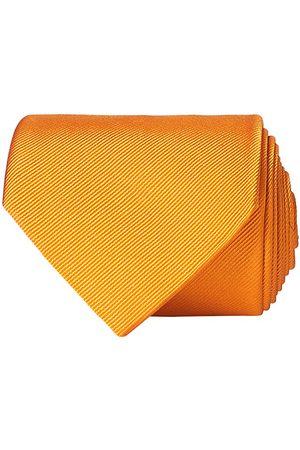 Amanda Christensen Plain Classic Tie 8 cm Orange