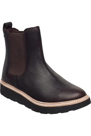Clarks Trace Cora Shoes Chelsea Boots