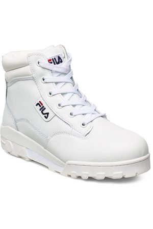 Fila Naiset Nilkkurit - Grunge Ii L Mid Wmn Shoes Boots Ankle Boots Ankle Boot - Flat