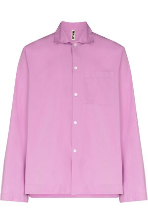 Tekla Miehet Pyjamat - Long-sleeve pyjama shirt