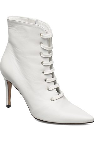 JENNIE-ELLEN Pearl Shoes Boots Ankle Boots Ankle Boot - Heel