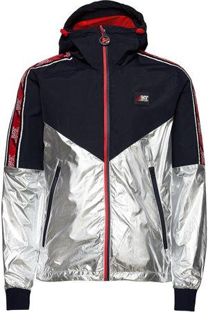 Superdry Miehet Takit - Sport Stripe Chrome Cagoule Ohut Takki