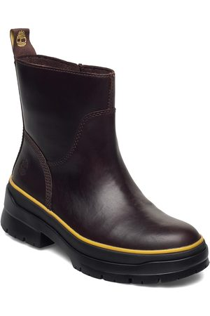 Timberland Naiset Nilkkurit - Malynn Wmlinesdzipwpmdbrn Shoes Boots Ankle Boots Ankle Boot - Flat