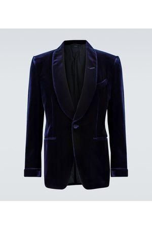 Tom Ford Miehet Bleiserit - Shelton velvet cocktail blazer