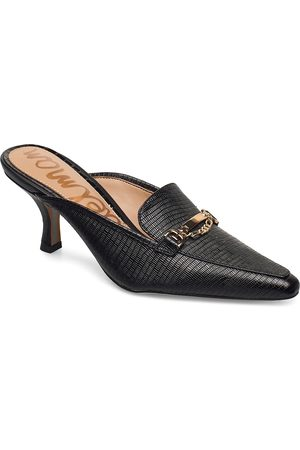 Sam Edelman Naiset Sandaletit - Tenetta Embossed Lizard Leather Sandaletit Pistokkaat