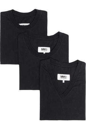 MM6 MAISON MARGIELA Mixed three-pack of T-shirts