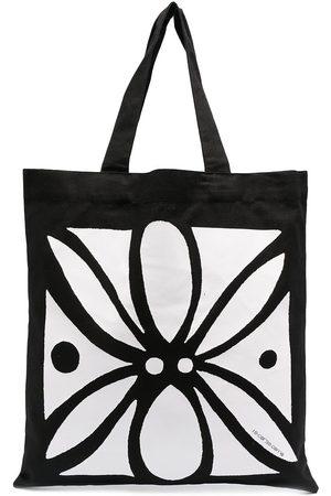10 CORSO COMO Abstract floral print tote bag