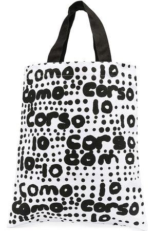 10 CORSO COMO Logo printed tote bag