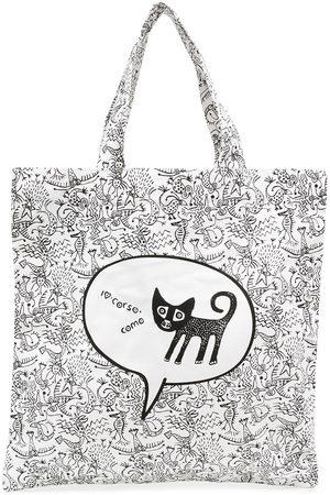 10 CORSO COMO Graphic print tote bag