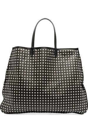 10 CORSO COMO Naiset Ostoskassit - Polka dot print tote bag