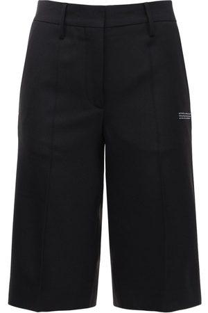 OFF-WHITE Formal Twill Bermuda Shorts