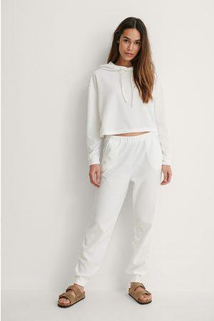 Trendyol Naiset Pyjamat - Carmen Pyjamas Set - Offwhite