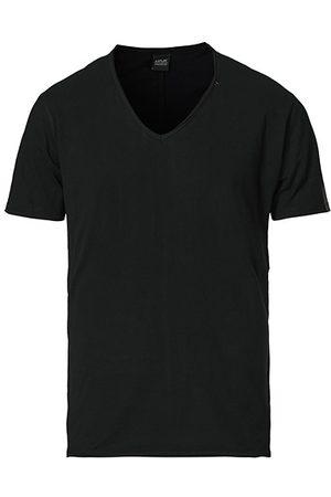 Replay Miehet T-paidat - V-Neck Tee Black
