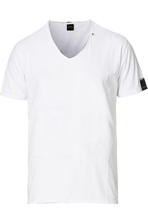 Replay Miehet T-paidat - V-Neck Tee White