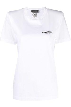 Dsquared2 Logo-print crew neck T-shirt