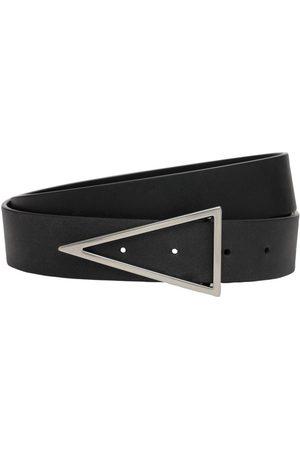 Bottega Veneta Miehet Vyöt - 3cm V Buckle Leather Belt