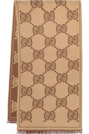 Gucci Naiset Huivit - GG wool jacquard scarf