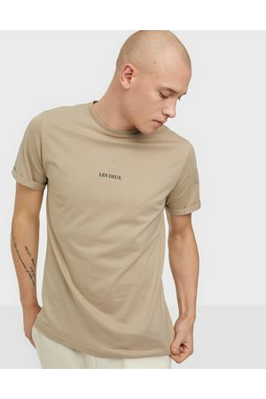 Les Deux Lens T-Shirt T-shirts & linnen Dark Sand