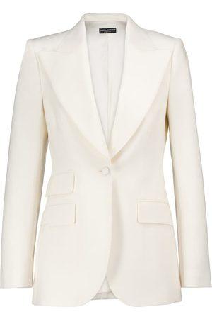 Dolce & Gabbana Stretch wool-blend natté blazer