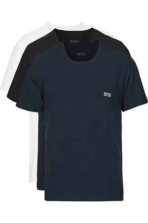 HUGO BOSS Miehet T-paidat - 3-Pack Crew Neck Tee Navy/Black/White