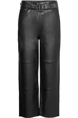 Gestuz Naiset Nahkahousut - Storiagz Pants Noos Leather Leggings/Housut