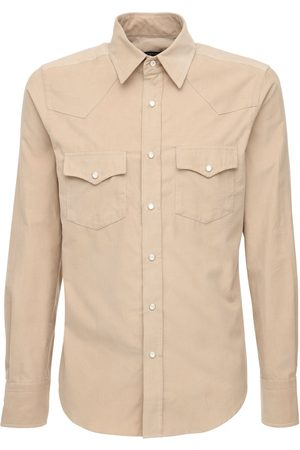 Tom Ford Light Cotton Corduroy Shirt
