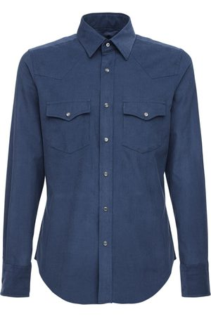 Tom Ford Light Cotton Corduroy Leisure Shirt