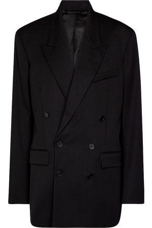 Balenciaga Double-breasted stretch-wool blazer