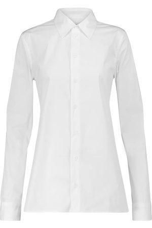 Bottega Veneta Stretch cotton-blend shirt