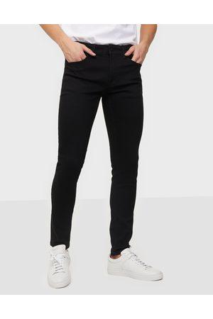 Only & Sons Miehet Skinny - Onswarp Life Skinny Black Pk 9383 N Jeans Black Denim
