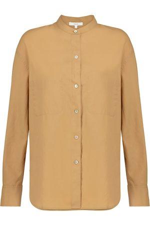 Vince Cotton and silk shirt
